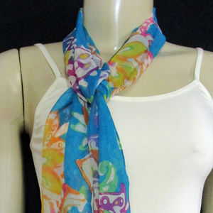 Accessories - Turquoise Scarf One Size